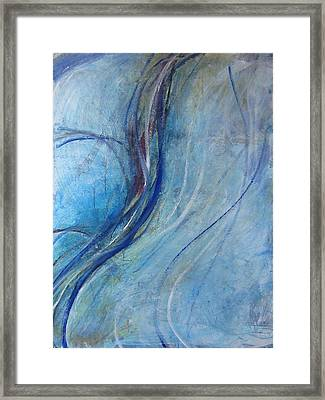 Framed Print featuring the painting Threads by John Fish