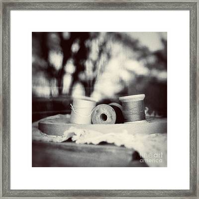 Threads Of Life  Framed Print