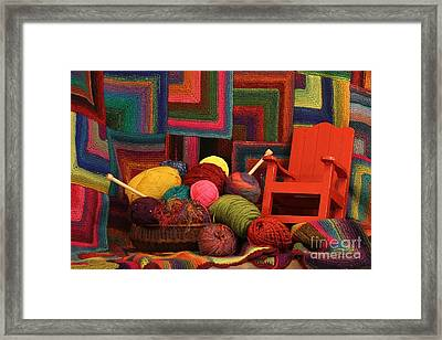 Threads Of The Soul Al Profits Benefit Hospice Of The Calumet Area Framed Print
