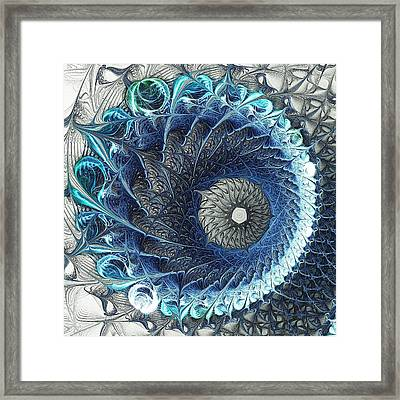 Threadwork Framed Print by Anastasiya Malakhova