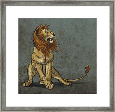 Threatened Framed Print