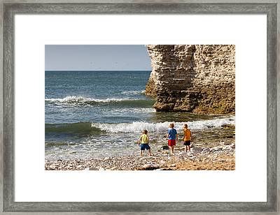 Three Adventurers Framed Print
