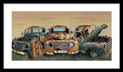 Ford Framed Prints