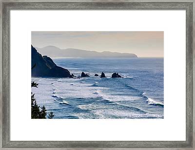 Three Arches Framed Print by Dennis Bucklin