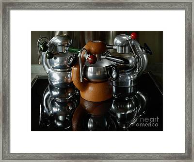 Three Atomic 2 Framed Print