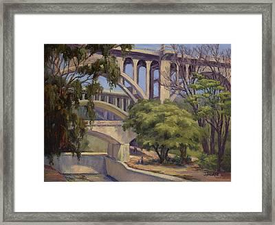 Three Bridges Framed Print by Jane Thorpe