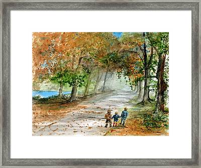 Three Brothers Framed Print by Rob Beilby