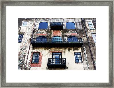 Three By Three Framed Print