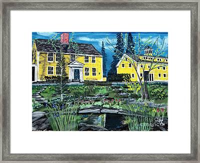 Three Chimneys Inn Framed Print