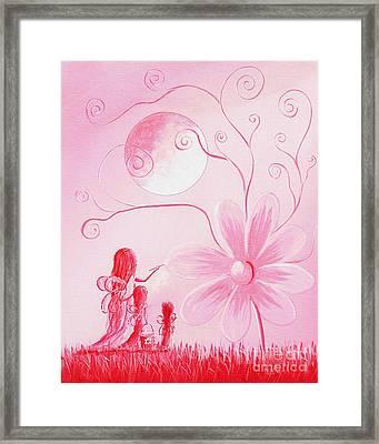 Pink Art Prints By Shawna Erback Framed Print by Shawna Erback