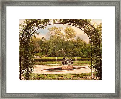 Three Dancing Maidens Framed Print by Jessica Jenney
