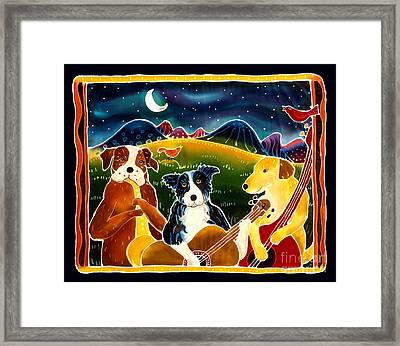 Three Dog Night Framed Print