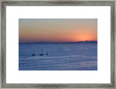 Framed Print featuring the photograph Three Dreams by Steven Sparks