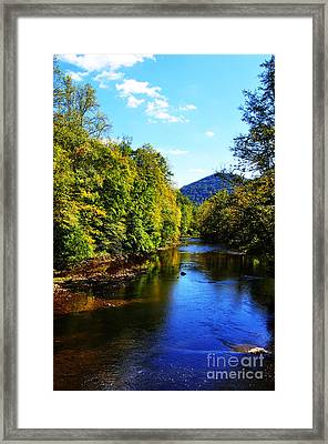 Three Forks Williams River Early Fall Framed Print by Thomas R Fletcher