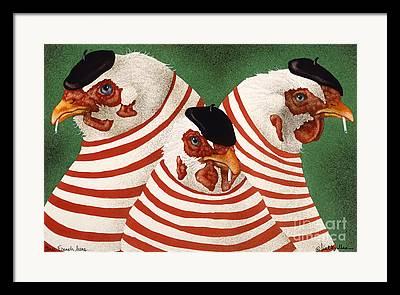 The Hen Framed Prints