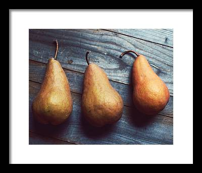 Pear Framed Prints