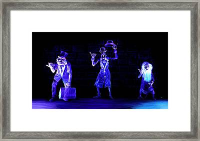 Three Hitchhiking Ghosts Framed Print by Jennifer Hotai