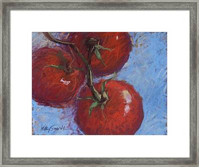 Three Is A Crowd Framed Print by Kelley Smith