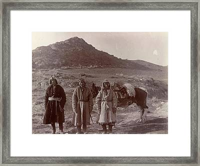Three Kazaks Framed Print