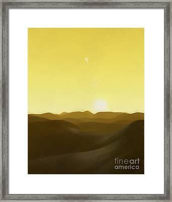 Three Kings' Day Framed Print