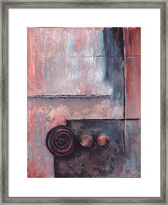 Three Knobs Framed Print by Buck Buchheister