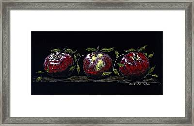 Three Macs Framed Print by Robert Goudreau