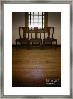Three Framed Print by Margie Hurwich