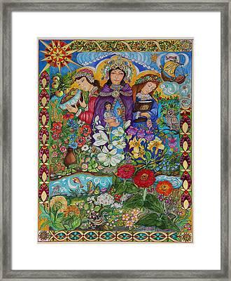 Three Marys Framed Print by Dorothea  Morgan