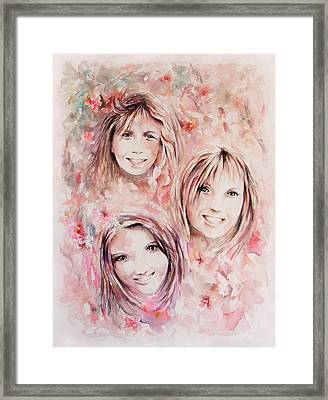 Three Miracles Framed Print by Rachel Christine Nowicki