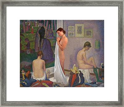 Three Muses Framed Print