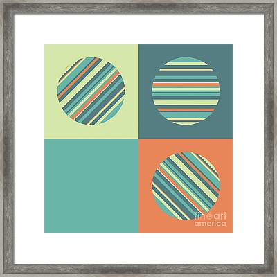 Three Or Four Framed Print