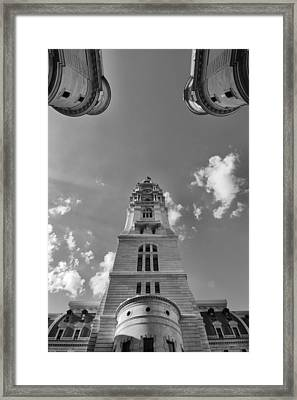 Three Points Of Justice Framed Print