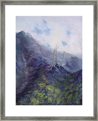 Three Prophets Framed Print by Charles Smith