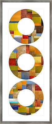 Three Rings Framed Print