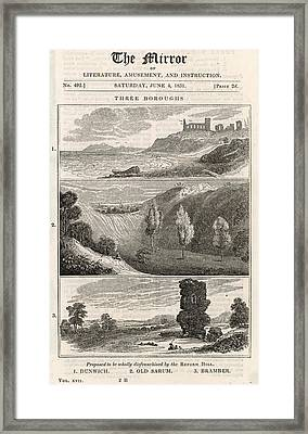 Three Rotten Boroughs -  1 Framed Print by Mary Evans Picture Library