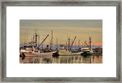 Three Seiners Framed Print by Randy Hall