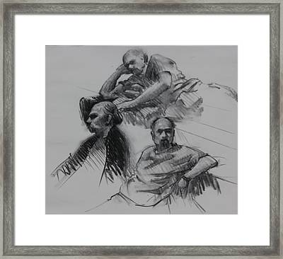 Three Sides Of Adam Framed Print