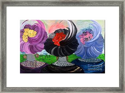Three Sisters 5 Framed Print