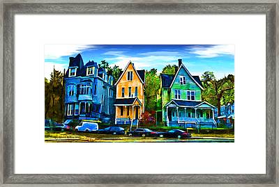 Three Sisters Framed Print by Aleksander Rotner