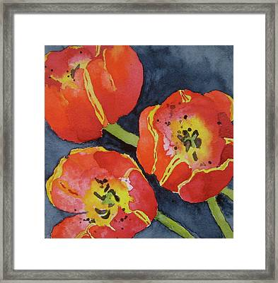 Three Sisters Framed Print by Beverley Harper Tinsley
