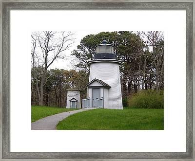 Three Sisters Light Framed Print by Catherine Gagne