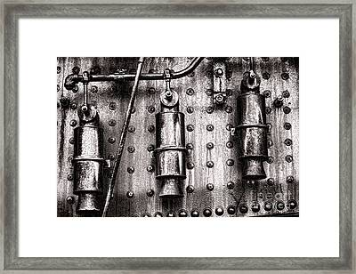 Three Sisters Framed Print by Olivier Le Queinec