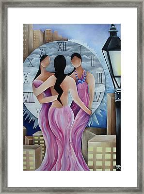 Three Sisters Framed Print by Pamela  Perran-Gosnell