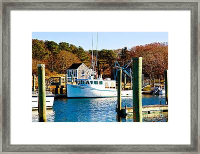 Three Sons Harwich Port Cape Cod Framed Print