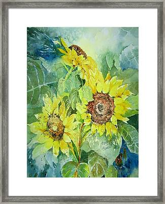 Three Sunnies Framed Print