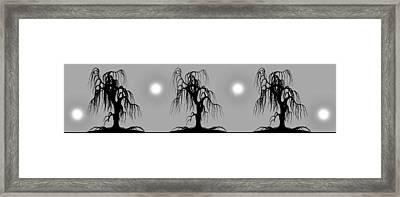 Three Trees Framed Print by Bob Orsillo