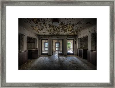 Three Way Entrance  Framed Print by Nathan Wright