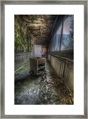 Three Wheeler Framed Print by Nathan Wright