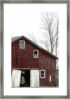 Three Windows Framed Print by Debbie Finley
