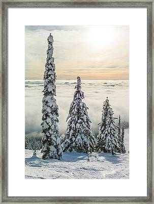 Three Wise Men Framed Print by Aaron Aldrich